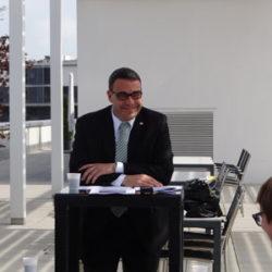 """Medienkonferenz """"100 Tage im Amt"""""""