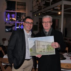 Lokstadt-Führung mit Josef Lisibach und Walter Mumenthaler